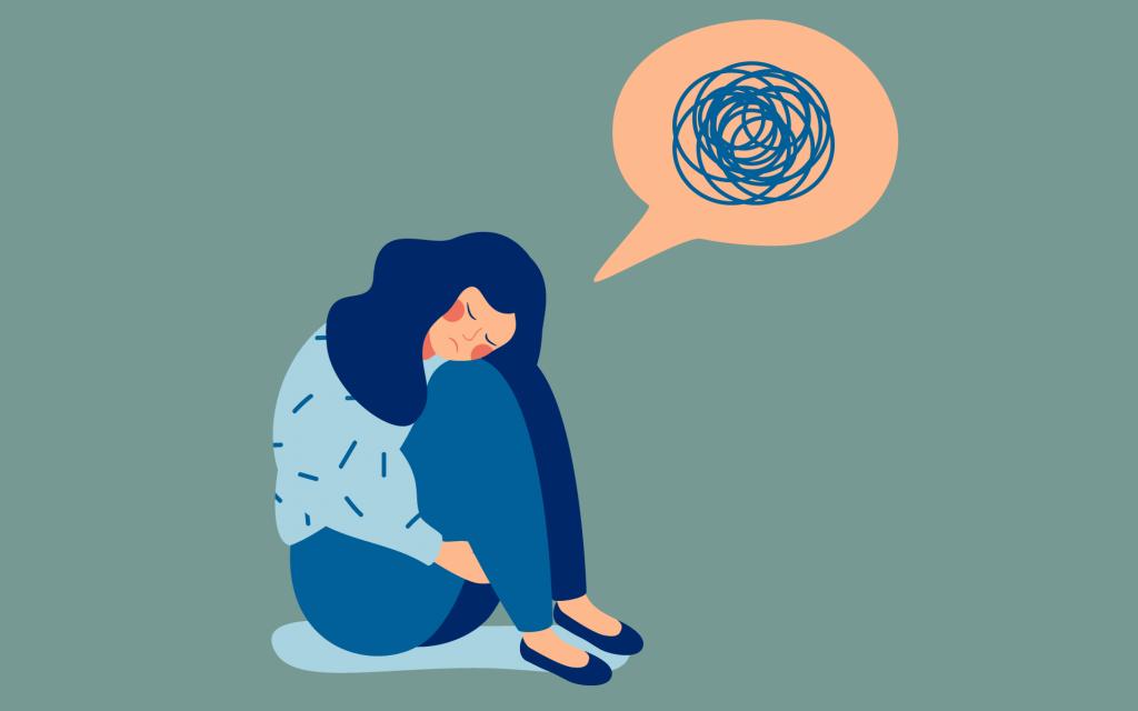 اعراض القلق النفسي الحاد - المرشد - Psychological anxiety